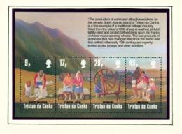 TRISTAN DA CUNHA  - 1984 Wool Industry Miniature Sheet Unmounted/Never Hinged Mint - Tristan Da Cunha