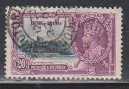 HONG KONG Scott # 150 Used - KGV Silver Jubilee - Hong Kong (...-1997)
