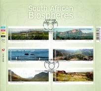 South Africa - 2016 Biospheres Sheet (o) - Afrique Du Sud (1961-...)