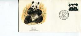Cina (1985) - WWF Panda FDC - 1980-89