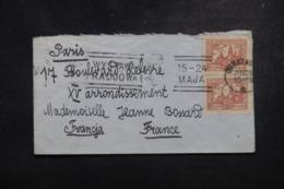 POLOGNE - Enveloppe De Warszawa Pour La France , Affranchissement Plaisant - L 45796 - Briefe U. Dokumente