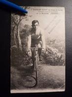 RAR * Charles Guyot Schweiz 1909 Fahrrad Condor  Cyclisme Radsport  Cycling Velo  Wielrennen - Cyclisme