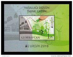 Aserbaidjan Azerbaidjan EUROPA CEPT 2016 Bloc/miniature Sheet, Neuf/mint - Europa-CEPT