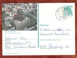 P 124 Burg Eltz, Abb Braunschweig, Warstein Nach Hamburg 1977 (81379) - BRD