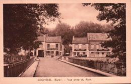CPA 27 COCHEREL Vue Prise Du Pont , Commerce E BOUILLARD - Autres Communes