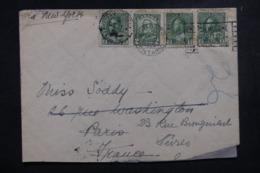 CANADA - Enveloppe De Toronto Pour La France En 1928, Affranchissement Plaisant - L 45799 - Cartas