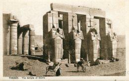EGYPT - Thebes - The Temple Of Osiris - Good Animation Etc - Egypt