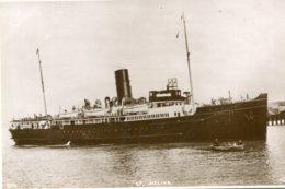 UNITED KINGDOM - Steamship ST HELLIER (1925-1960)  RPPC - Dampfer