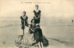 FRANCE - Berch Plage - Sur-la=plage Avant Le Maree - Berck