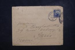 CUBA - Enveloppe De L 'Hôtel Pasaje De Havana Pour Paris En 1903, Affranchissement Plaisant - L 45801 - Briefe U. Dokumente