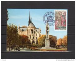 """"""" SACRE DE NAPOLEON A NOTRE DAME DE PARIS """" Sur Carte 1er Jour Avec Le N° YT 1776 - Napoleon"""