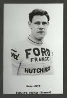 Coureur LUTE / équipe FORD - FRANCE / Saison 1966 / Reproduction - Radsport