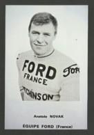 Coureur NOVAK / équipe FORD - FRANCE / Saison 1966 / Reproduction - Radsport