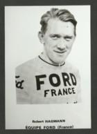 Coureur HAGMANN / équipe FORD - FRANCE / Saison 1966 / Reproduction - Radsport