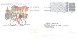 2005 Championnat De France De Cyclisme Sur Route à  Marquise :entier Postal, PAP. - Radsport