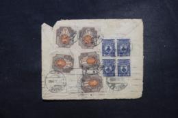 RUSSIE - Affranchissement Plaisant Sur Dos D'enveloppe En 1922 ( Pas De Devant) - L 45806 - 1917-1923 Republic & Soviet Republic