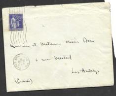 Enveloppe 1938 Plus Lettre - Francia