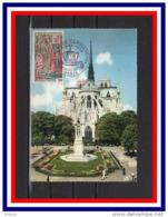 """"""" SACRE DE NAPOLEON A NOTRE DAME DE PARIS """" Sur Carte 1er Jour. N° YT 1776 - Napoleon"""