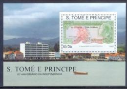 O9- Sao Tomè Et Principe 1990. 15th Anniversery Of Independend. - Sao Tome And Principe