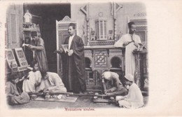 182519Menusiers Arabes, 1902. - Persons