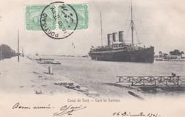 182550Canal De Suez, Gare De Kantara 1905 - Suez