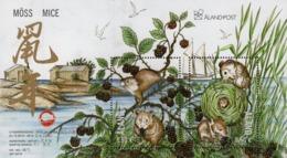 Aland - 2019 - Lunar New Year Of The Mouse - Mint Souvenir Sheet - Aland