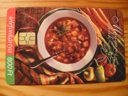 Phonecard Hungary - Food - Hongrie