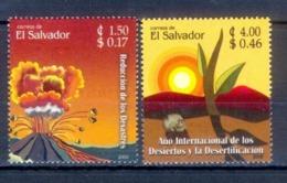 O15- EL SALVADOR 2006, DESERTIFICATION  & DISASTER REDUCTION. - El Salvador