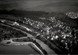 !  Wernau Am Neckar, Landkreis Esslingen, Seltenes Luftbild Moderner Abzug, Nr. 8489 Format 18 X 13 Cm - Altri