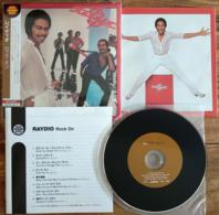 RAYDIO ROCK ON Japanese CD Mini Sleeve W/ Inserts K2 Master Arista /BMG Japan See Imgs. Rare - Soul - R&B