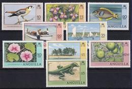 Anguilla 1978 Mi.-Nr. 300-308 Satz Postfrisch ** / MNH Freimarken - Anguilla (1968-...)