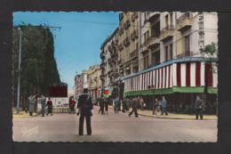 CPSM Pf . TUNISIE . TUNIS . Avenue J. Ferry . Station Du T. G. M. . Animation . - Tunisia
