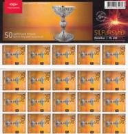 Iceland 2012 MNH Minisheet Of 50 Sc 1259 (97k) Silver Chalice - Nuevos