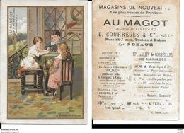 CHROMOS. Magasins De Nouveautés AU MAGOT (Bordeaux). Une éducation Difficile. ..I 453 - Otros