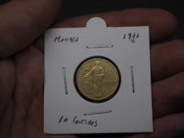 Monaco - 10 Centimes-Rainer III 1977 - Monaco