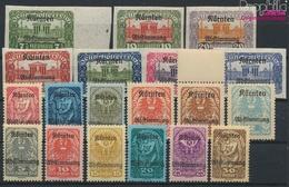 Autriche 321-339 (complète.Edition.) Neuf Avec Gomme Originale 1920 Carinthie (9350260 (9350260 - Ungebraucht
