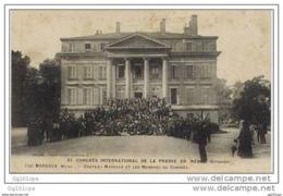 33 Congrès International De La Presse En Médoc - Château Margaux Et Les Membres Du Congrés - Margaux