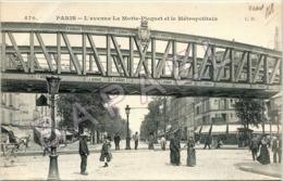 Paris (75) - L'Avenue La Motte-Picquet Et Le Métropolitain (Circulé En 1917) - Sonstige