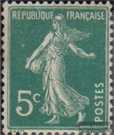 France 116y GC-Paper Fine Used / Cancelled 1906 Säerin - Used Stamps
