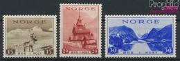Norwegen 195-197 (kompl.Ausg.) Postfrisch 1938 Tourismus (9350158 - Norwegen