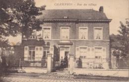 Champion Bas Du Village Circulée En 1935 - Belgique