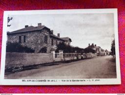 BEL AIR De COMBREE Maine Et Loire 49 Vue De La Gendarmerie Ecrite Circulee 1947 - Otros Municipios