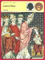 Louis Le Pieux. Roi D'Aquitaine. Empereur D'Occident. Carolingien. L'impossible Unité Impériale. - Storia