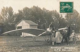 I145 - 38 - GRENOBLE - Isère - Carte Photo - Aviation - 6-7-8 Mai 1911 - Avion - Grenoble