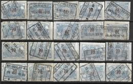 _9Sp-970:restje 20zegels: TR23 ...om Verder Uit Te Zoeken. - 1895-1913