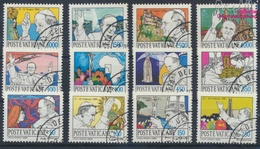 Vatikanstadt 852-863 (kompl.Ausgabe) Gestempelt 1984 Papstreisen (9355536 - Vaticano (Ciudad Del)