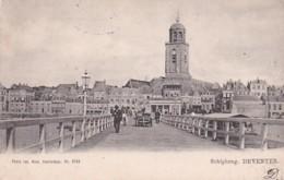 1850351Deventer Schipbrug (poststempel 1904) (minuscule Vouwen In De Hoeken) - Deventer