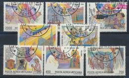 Vatikanstadt 899-906 (kompl.Ausgabe) Gestempelt 1986 Papstreisen (9355299 - Vaticano (Ciudad Del)