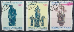 Vatikanstadt 913-915 (kompl.Ausgabe) Gestempelt 1987 Christianisierung Litauens (9355296 - Used Stamps