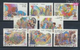 Vatikanstadt 926-933 (kompl.Ausgabe) Gestempelt 1987 Papstreisen (9355292 - Used Stamps